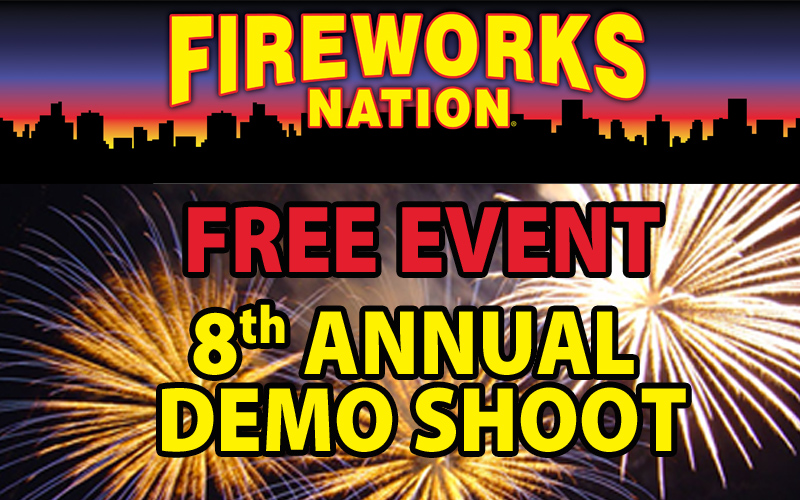 8th Annual Fireworks Demo